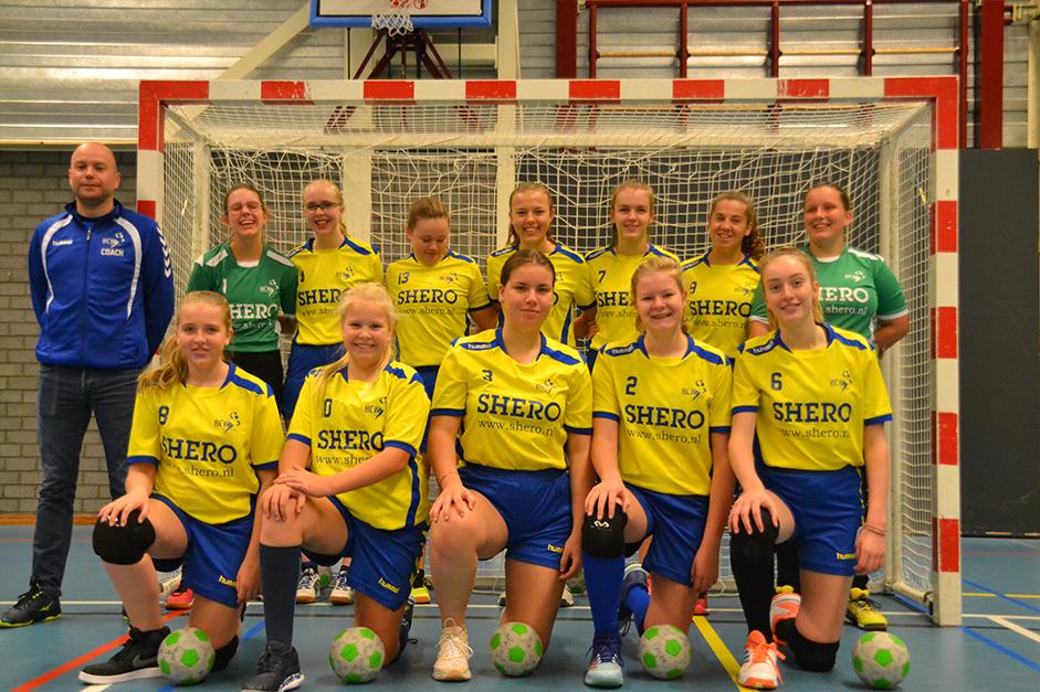 Teamfoto HCW C-Meiden
