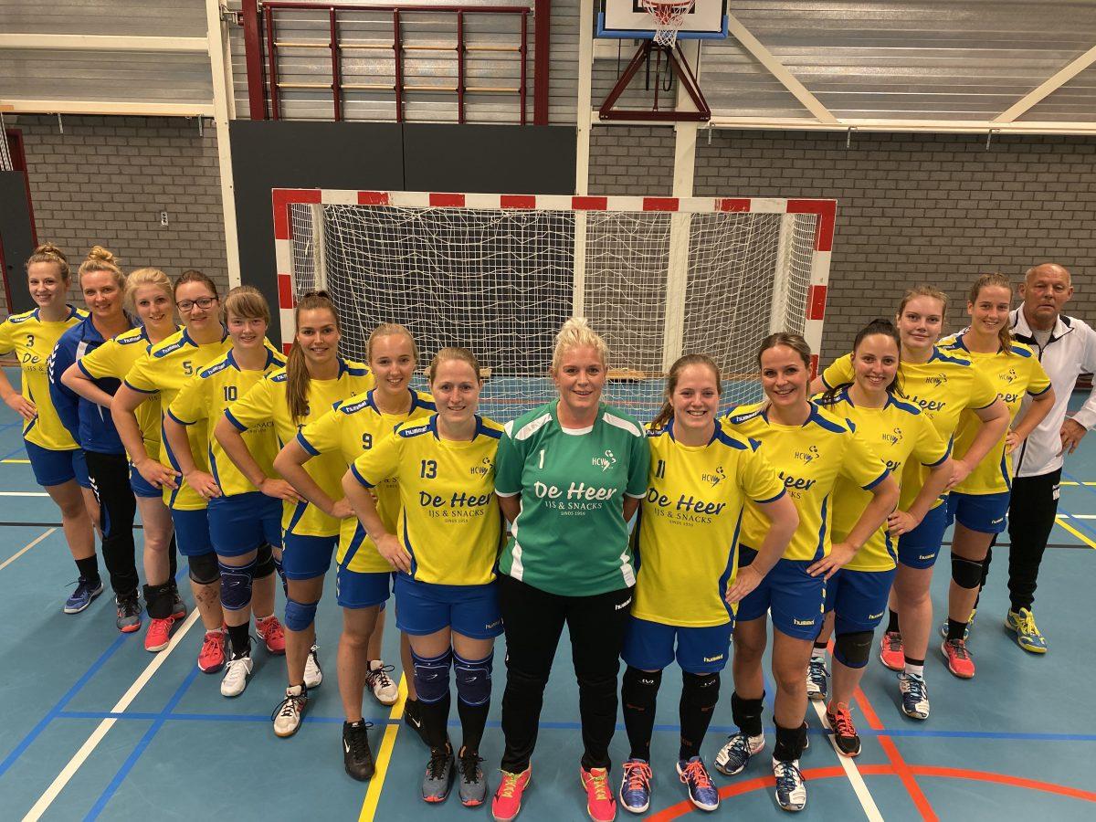 Teamfoto HCW Dames 1