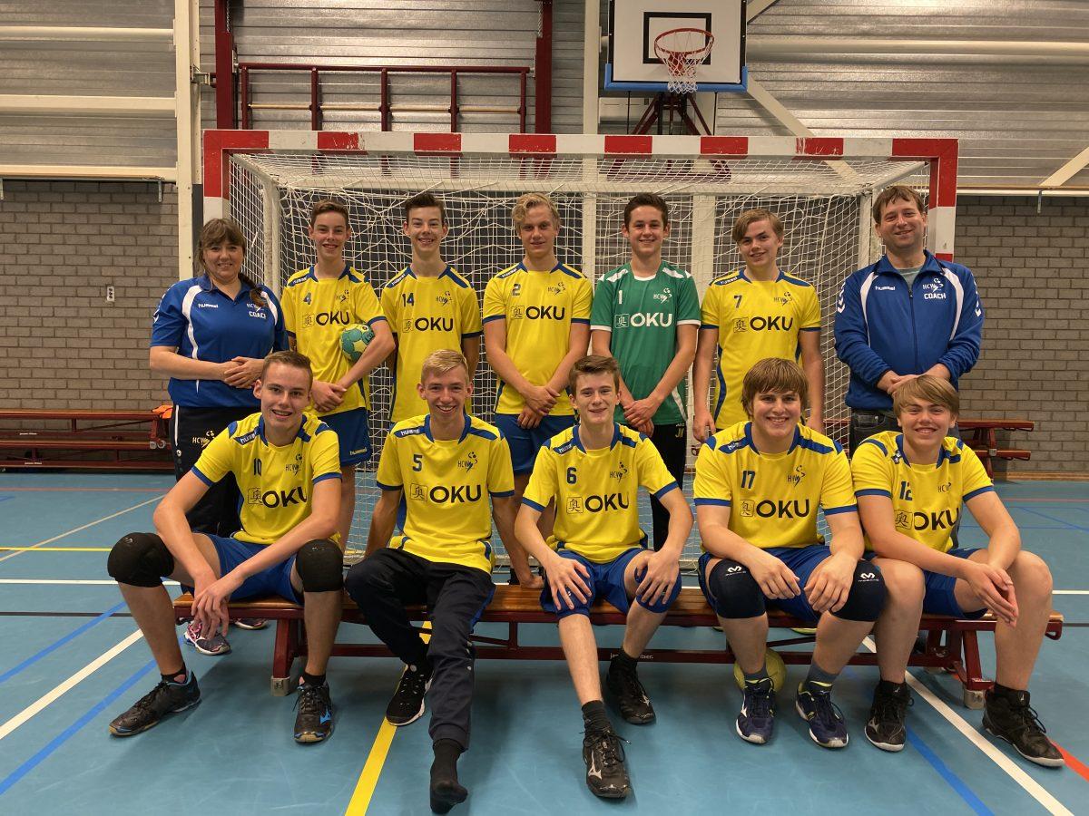 Teamfoto HCW B-Jongens - Seizoen 2019/2020