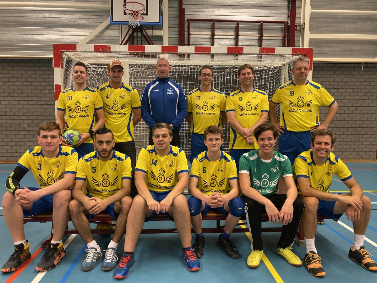 Teamfoto HCW Heren 2 - seizoen 2019/2020