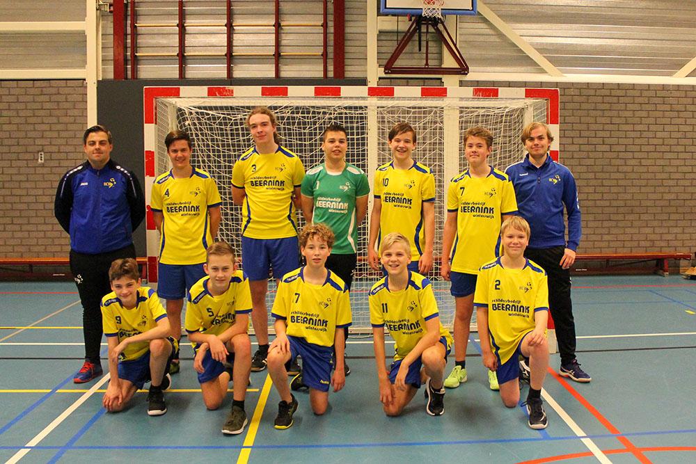 Teamfoto HCW C-Jongens